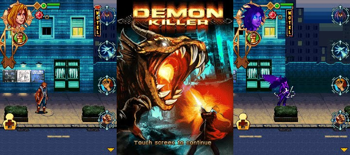 240x320 Java Game: Demon Killer