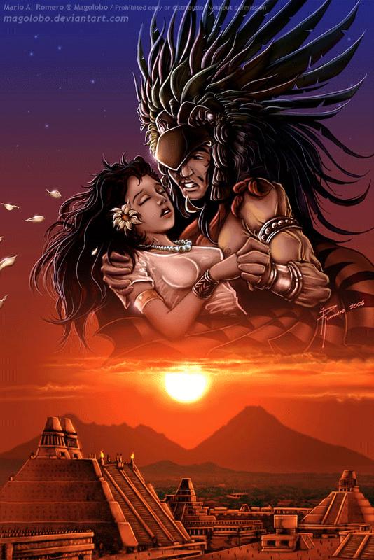 El Popocatepetl Y Iztaccihuatl