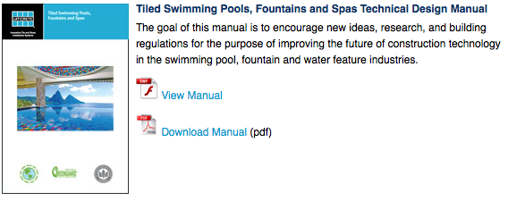 Laticrete australia conversations swimming pool design manual for Pool design handbook