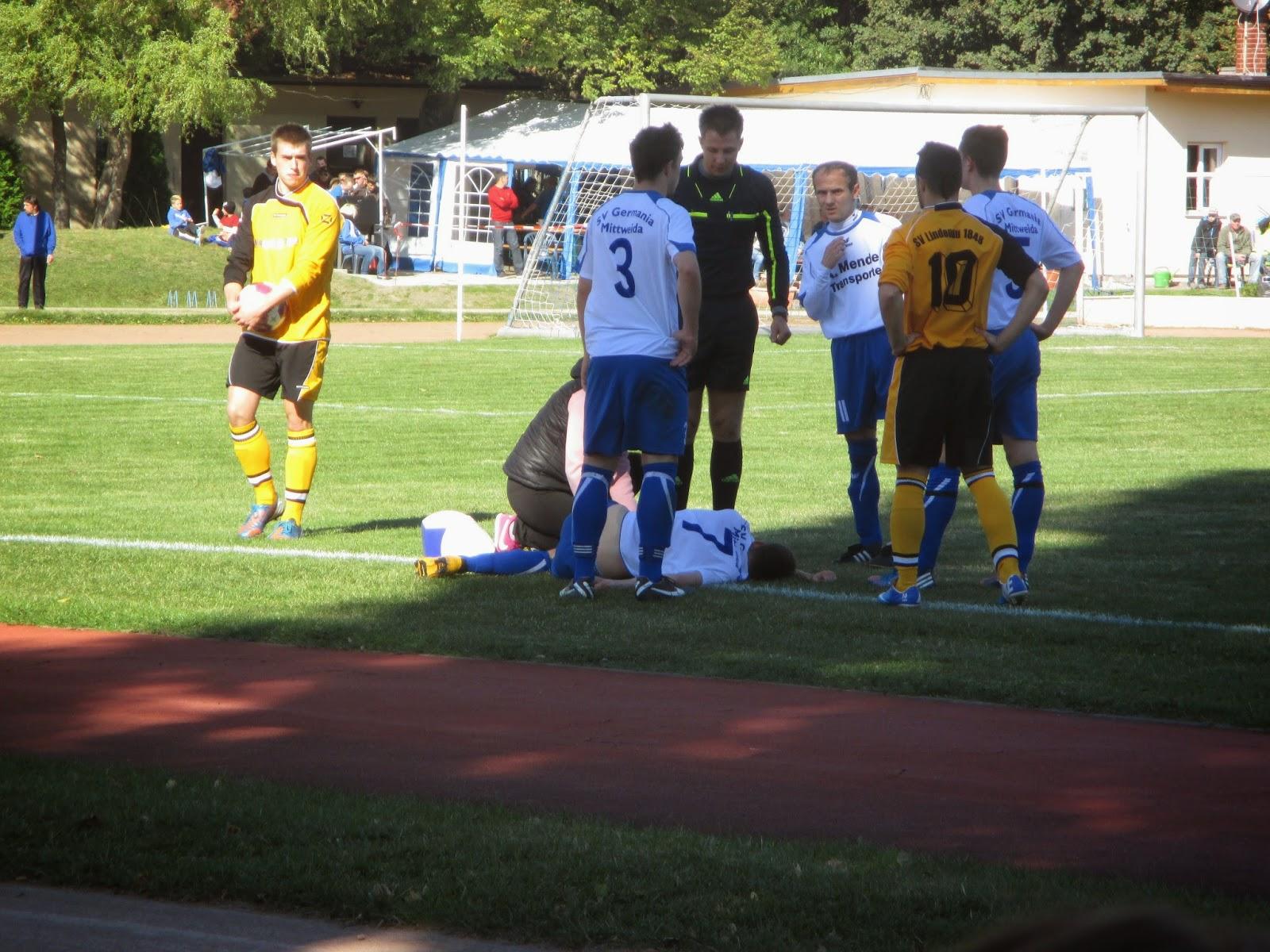 Für den Fussball unterwegs: 03.10.2013 SV Lindenau 1848 - Germania ...
