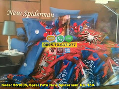 Harga Sprei Fata New Spiderman Uk. 180 Jual