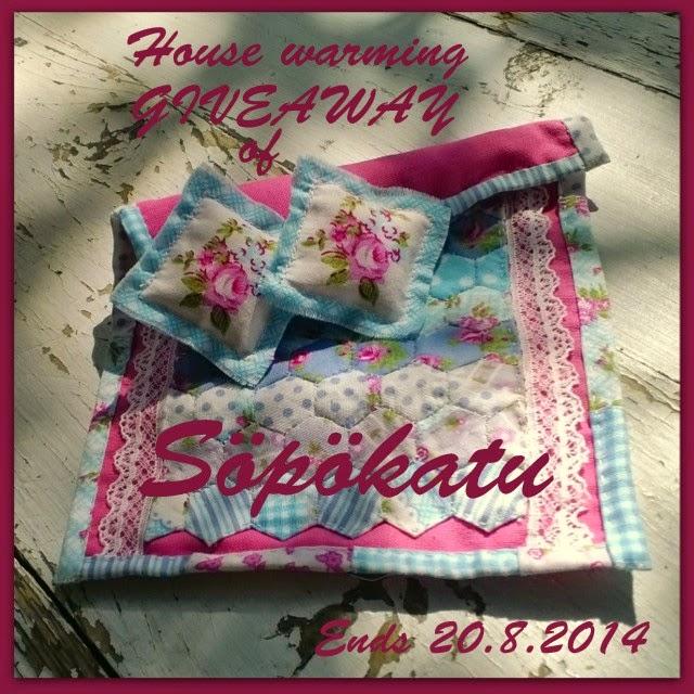 Housewarming Giveaway of Söpökatu