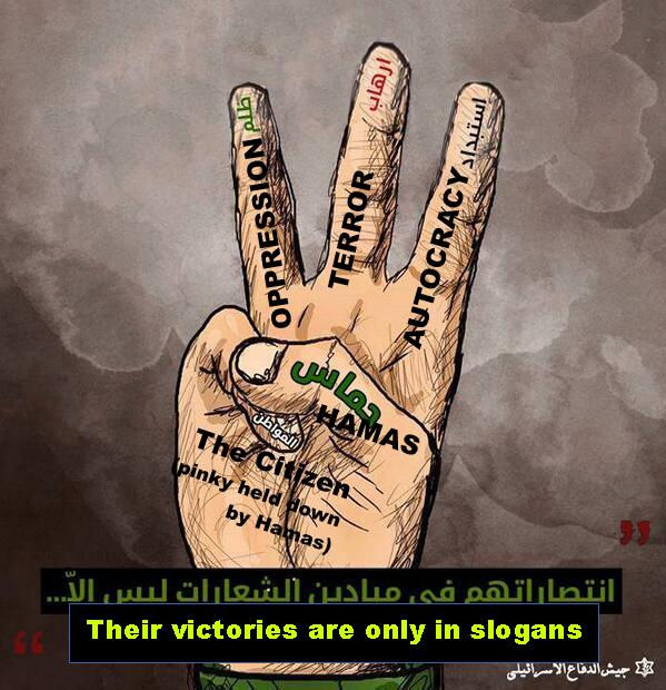 Idf Creates Its Own Three Finger Symbol Elder Of Ziyon Israel News