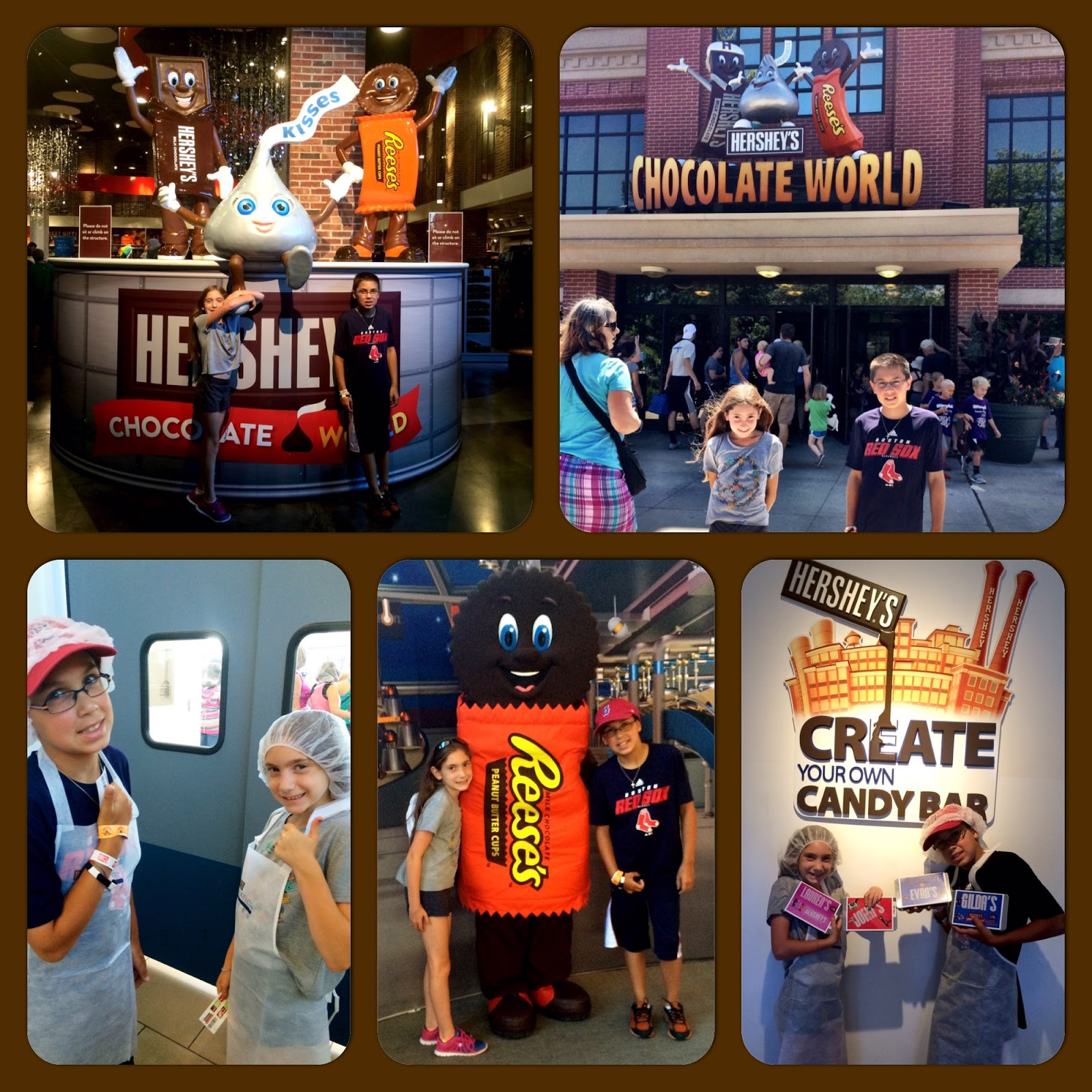 Evan and Lauren's Cool Blog: 8/16/15: Hershey's Chocolate World A ...