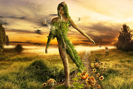 Nature Photo Manipulation: Mother Nature