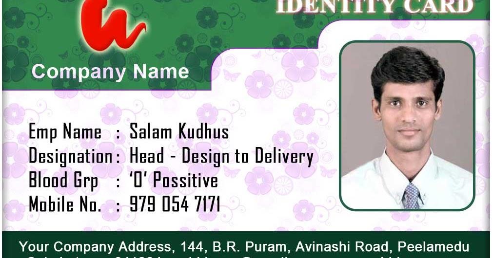 id card format
