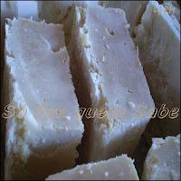 Sabão caseiro feito com óleo usado.