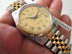 ROLEX OYSTER PERPETUAL DATEJUST - ROLEX 16013 ROMAN DIAL