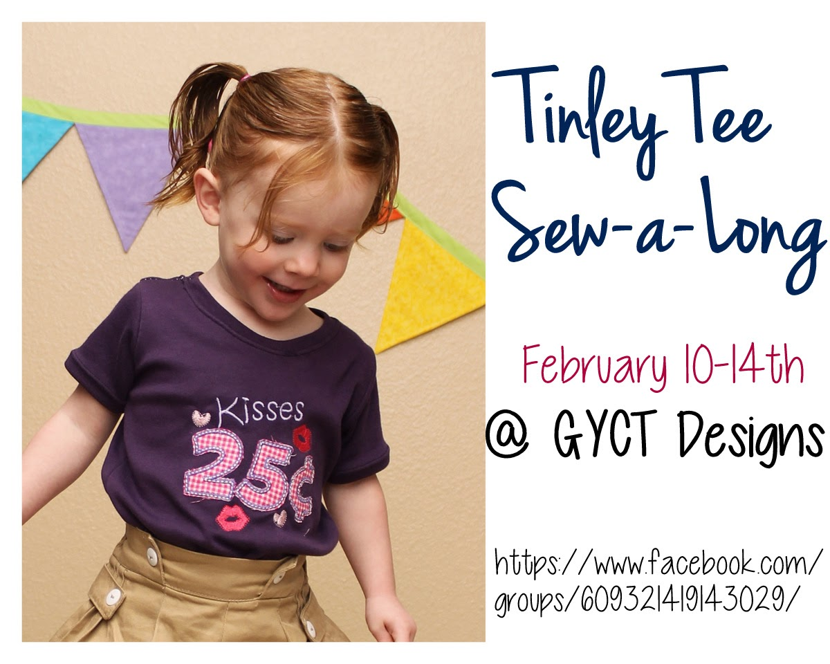 Tinley Tee Sewalong by GYCT Designs