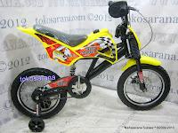 Sepeda BMX Jacko Tracker Motocross 16 Inci 3