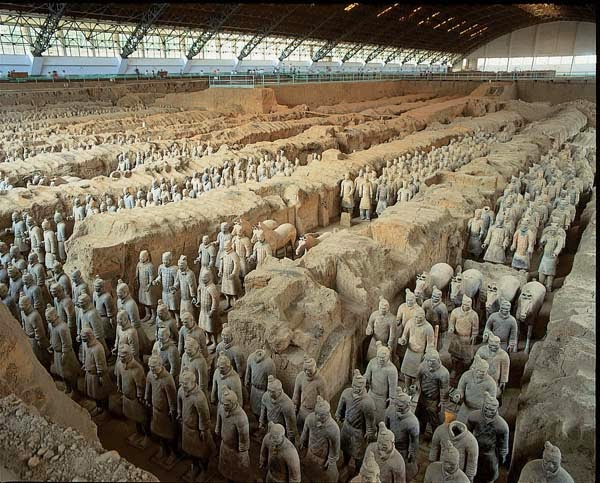 China's First Emperor's Pyramid & The Terra cotta Army