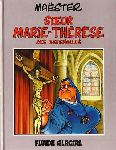 Soeur Marie-Thérèse des Batignolles de Maëster, couverture pour chronique 7BD