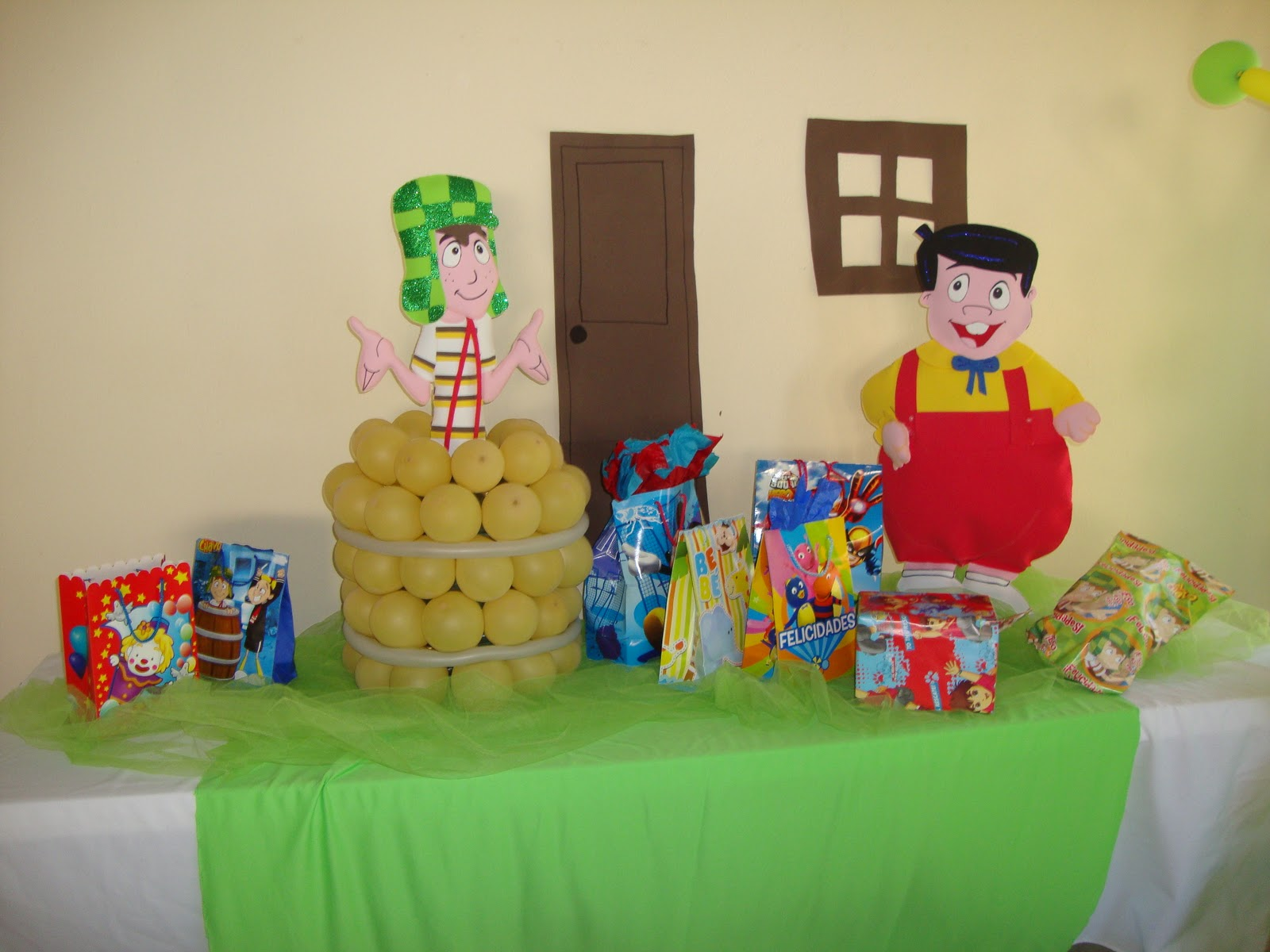 decoracion chavo del 8 happy zone