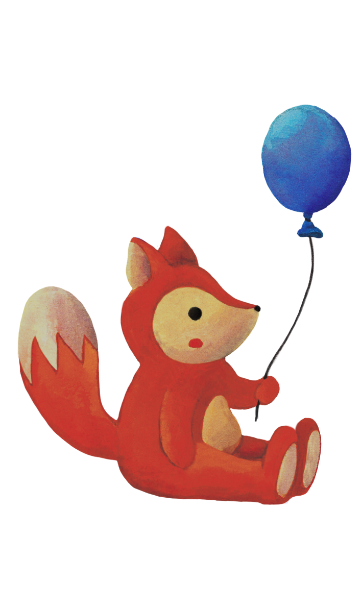 Fox & Balloon - Jen Haugan Animation & Illustration