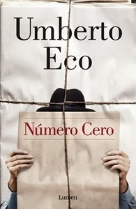 Día del Libro: Número Cero, de Umberto Eco.