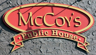 McCoy's Public House Sign