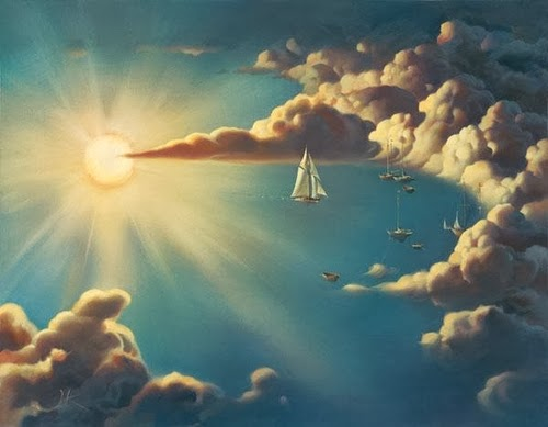 08-Haven-Vladimir-Kush-Surreal-Lands-Paintings-www-designstack-co