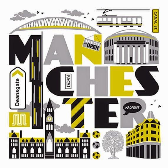 Manchester print