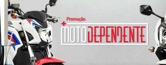 Participar promoção Honda Moto Dependente