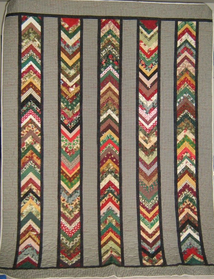 Inch by Inch Quilting: Doreen s Christmas Braid