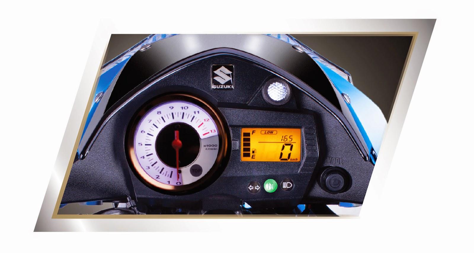 Mặt đồng hồ số của Suzuki Raider 150