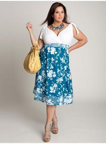 Vestidos primavera/verano 2012 para gorditas (XL) ~ Moda y Mas