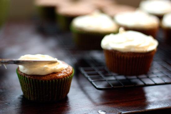 The SoHo: Carrot Cake Cupcakes