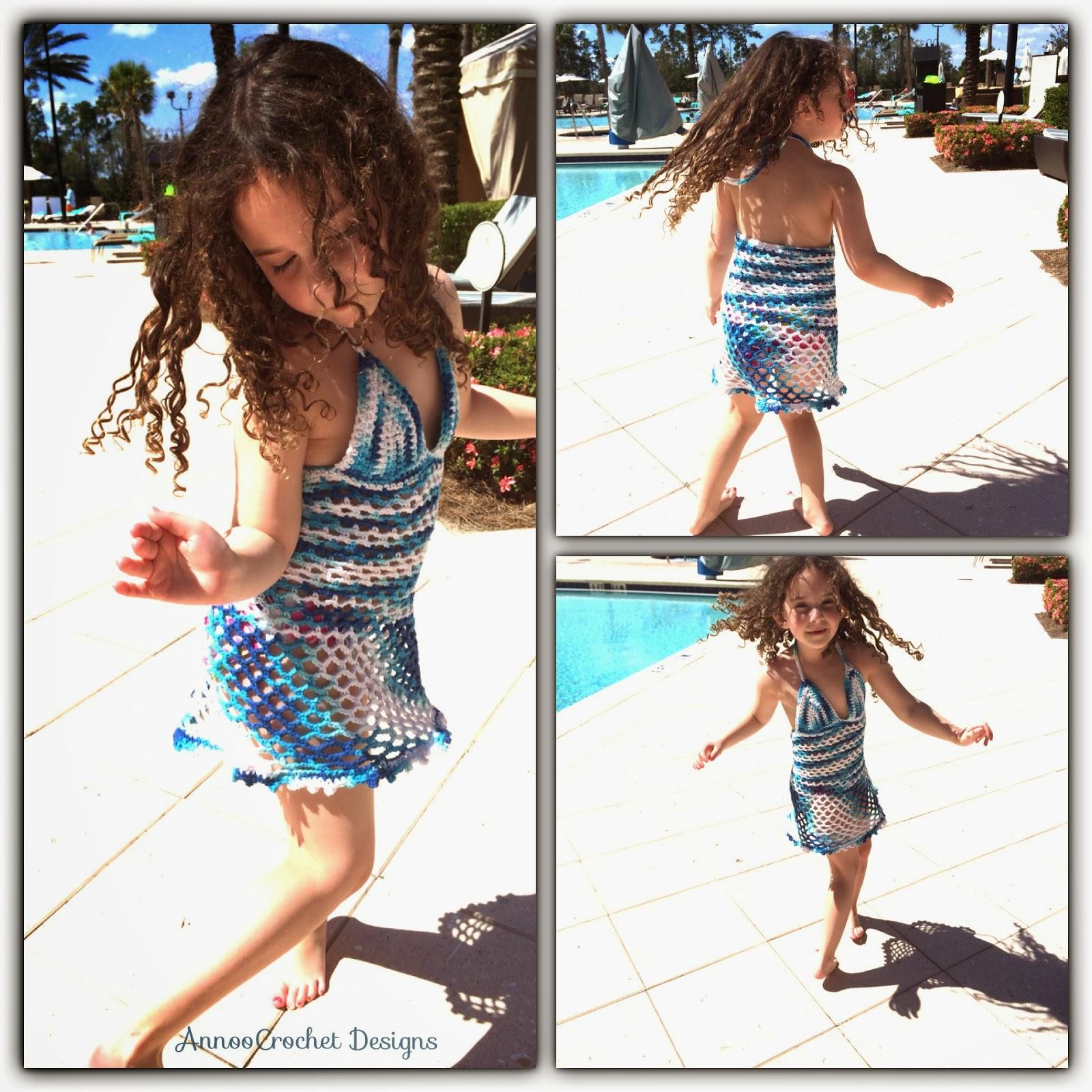 Annoo\'s Crochet World: Abigail\'s Beach dress Free Pattern
