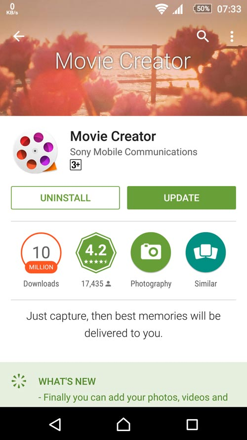 Movie Creator 3.2.A.0.2