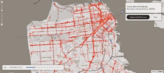 Maps Mania The RealTime San Francisco Muni Tracker
