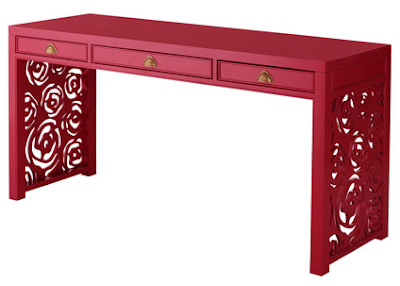 HORCHOW JANETTE ROSE CONSOLE