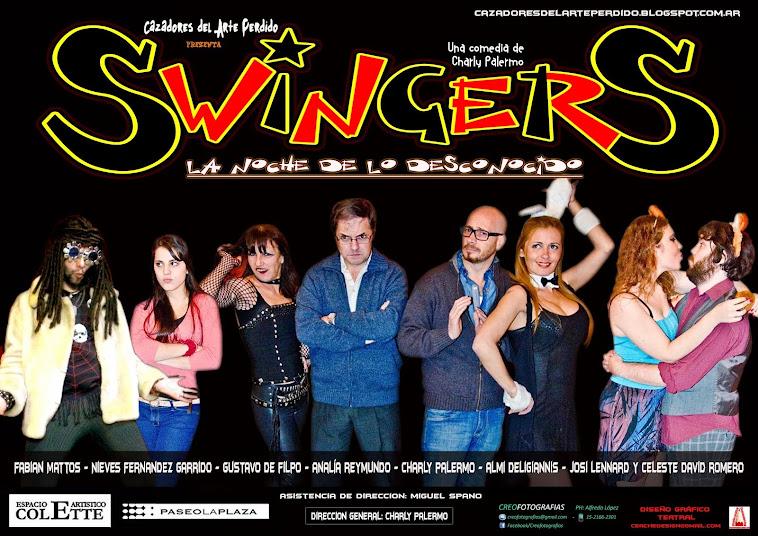 SWINGERS...LA NOCHE DE LO DESCONOCIDO