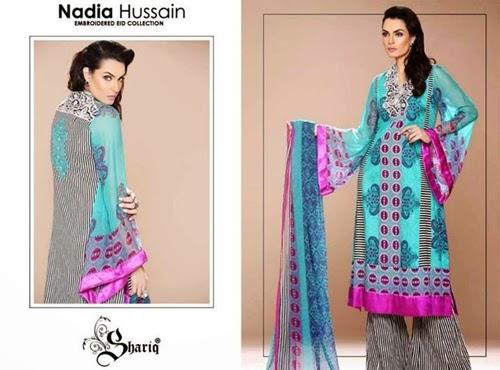 NadiaHussain Eid Collection 2014