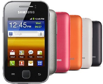 samsung galaxy y the latest android device from samsung catering to