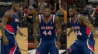 NBA 2K13 Ivan Johnson Cyber Face Mod