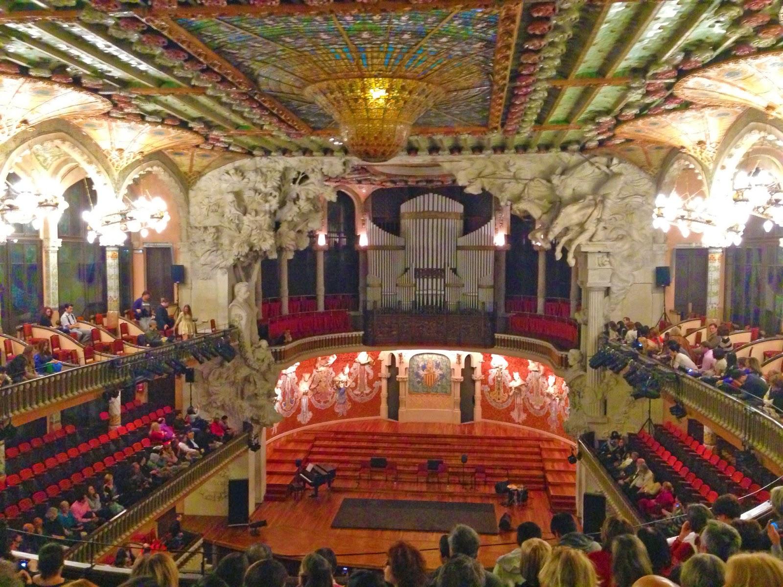 Paula de la Musica Catalana Barcelona