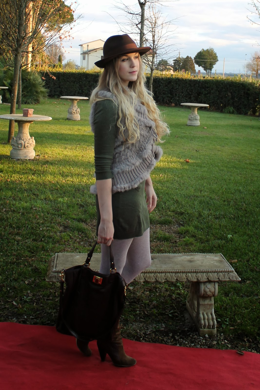 blogger outfit winter