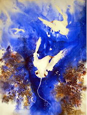 MARCH inspiration Lyn Butchart with Bluebirds