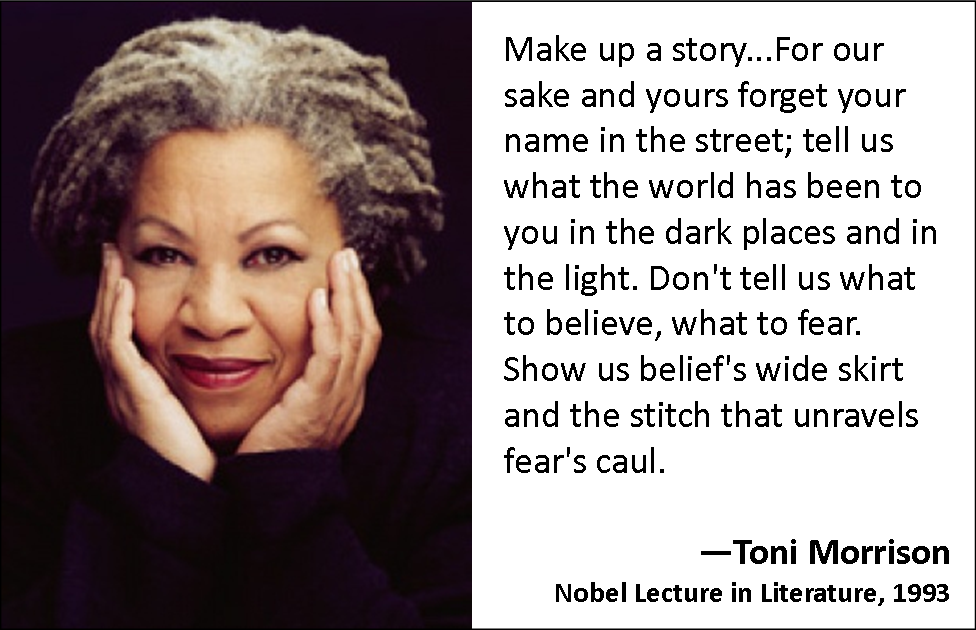 a biography of toni morrison a writer Each of these 8 books celebrate the power that audre lorde and toni morrison  have given us through their writing may you read each one in.