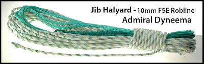 Annapolis Performance Sailing APS Rigging FSE Robline Dyneema Experience Jib Halyards