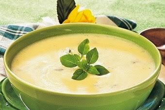 Fesleğenli Yoğurt Çorbası Tarifi