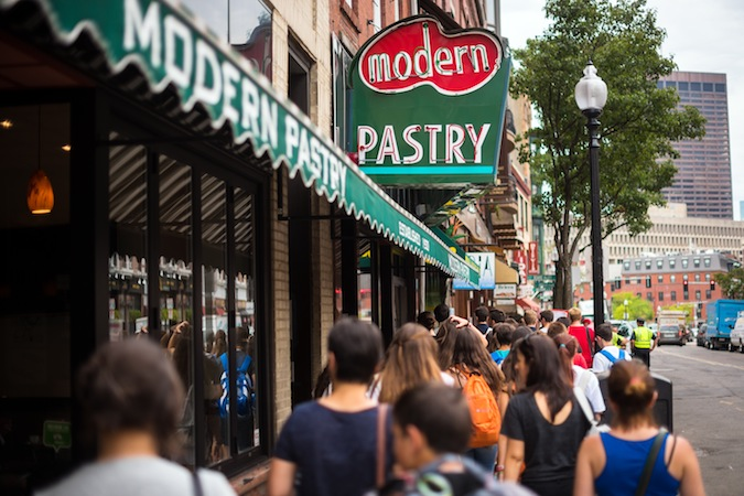 Modern versus Mike's Pastry