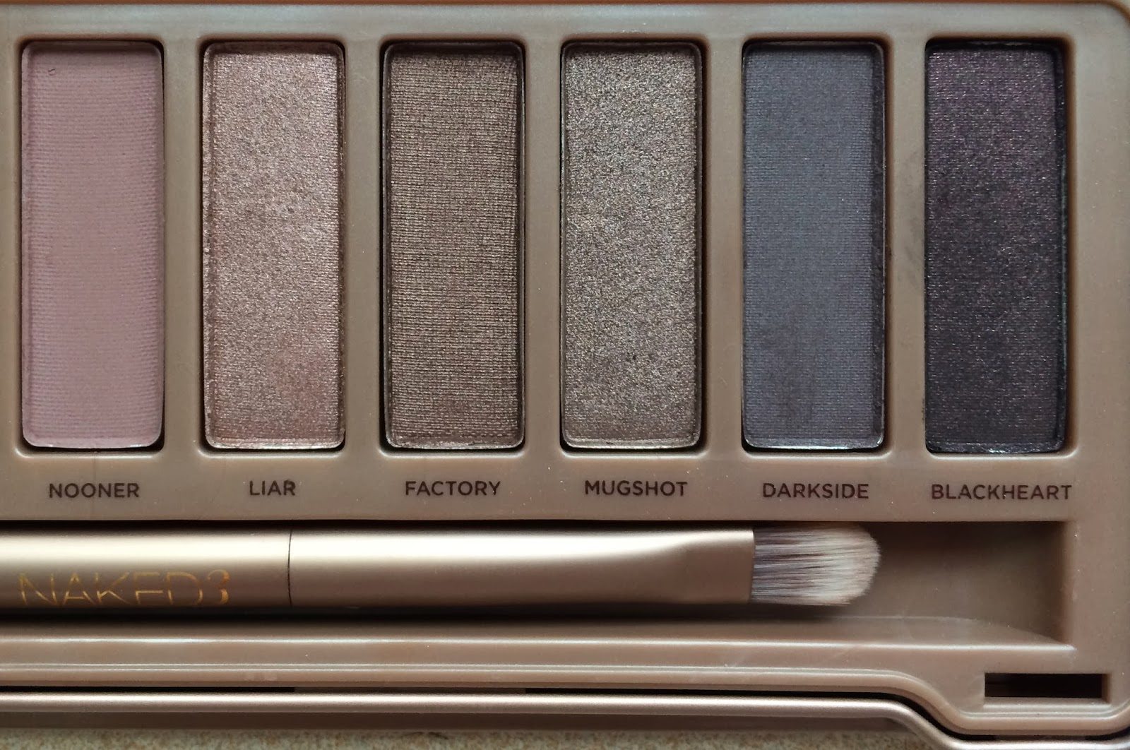 urban decay naked palette 3 review and swatches charli b. Black Bedroom Furniture Sets. Home Design Ideas