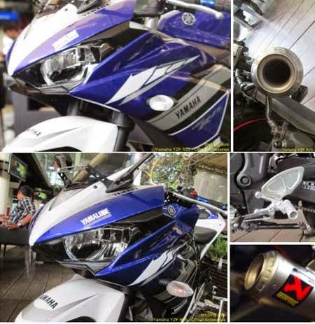 Sparepart racing Yamaha R25