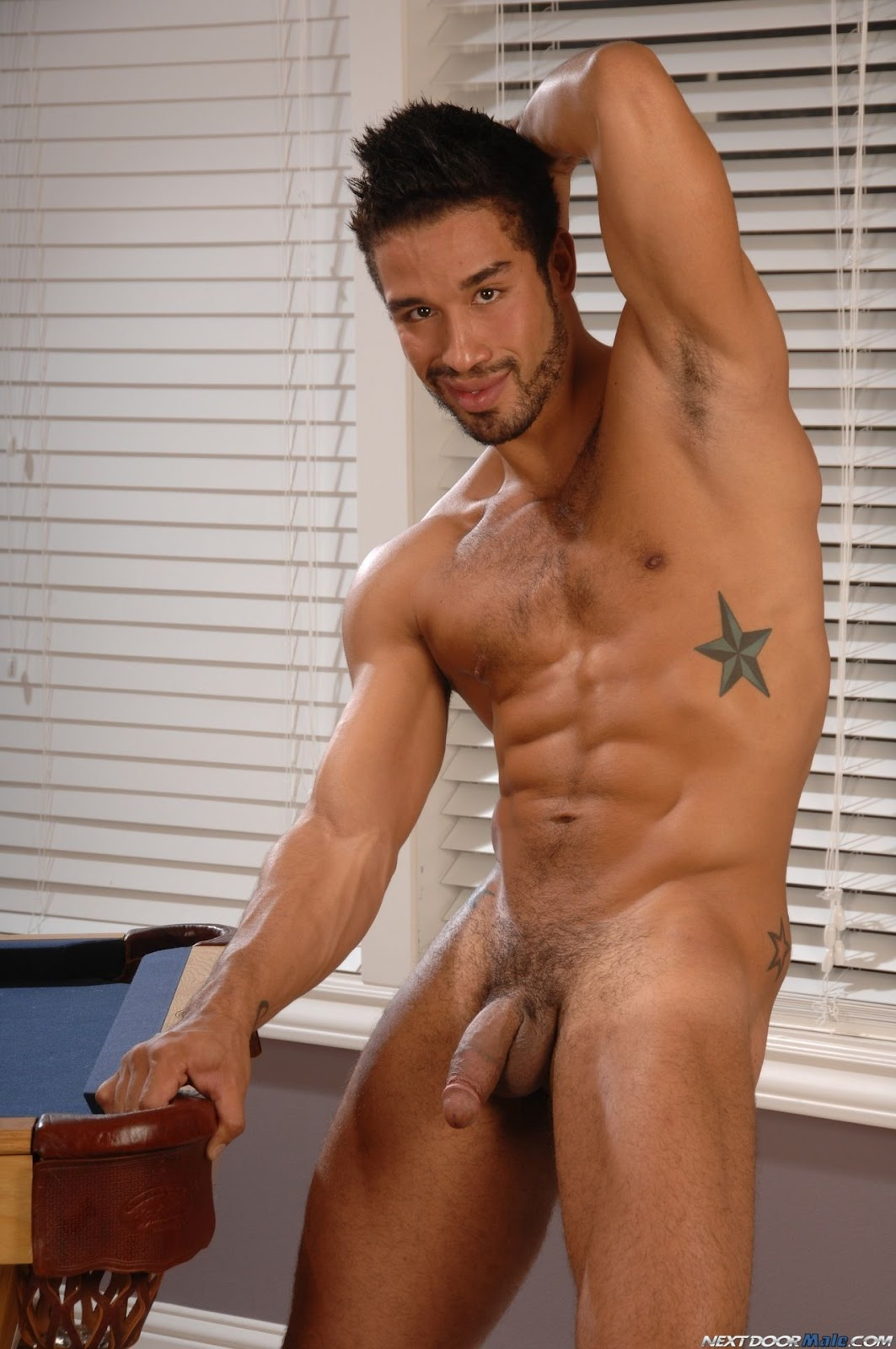 Black Latin And Hairy Hot Body