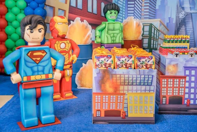 Decoração infantil LEGO