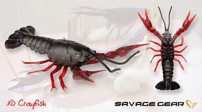 Savage Gear Nouveautés News 2014 Leurres 3D Crayfish Ecrevisse