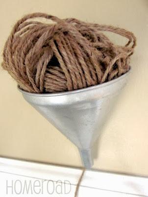 DIY String Holder www.homeroad.net
