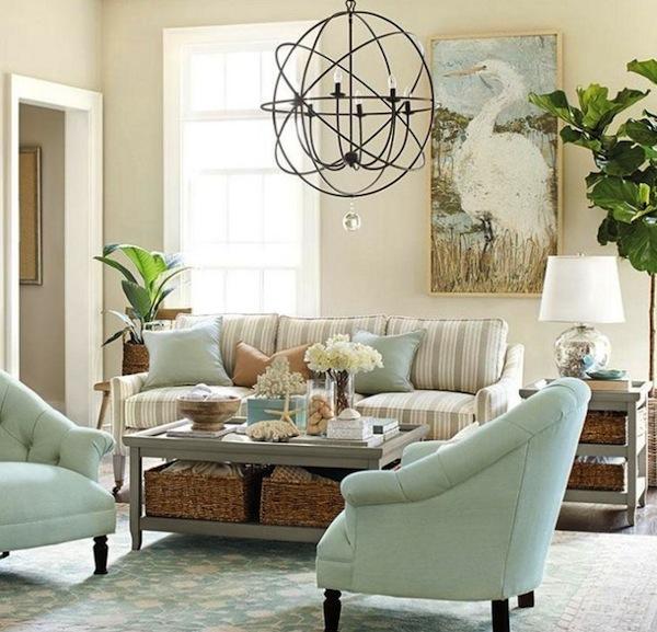 Decore com gigi duas cores opostas for Benjamin moore tranquility living room