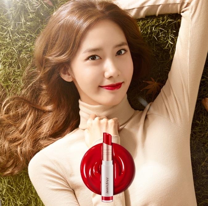 Innisfree Creammellow lipstick Yoona